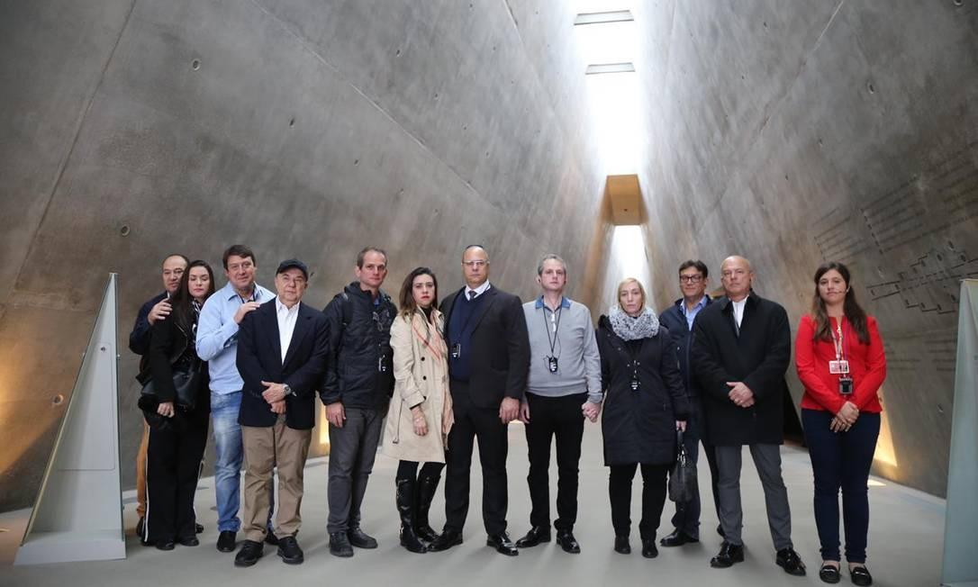 Doze pessoas fazem parte da comitiva de Witzel que viajou a Israel Foto: Divulgação