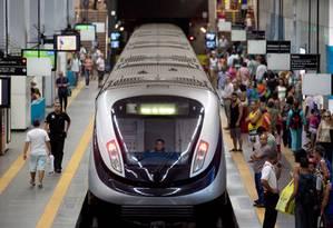 Metrô terá serviço especial na virada do ano Foto: Divulgação