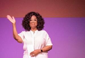 Oprah Winfrey visitou João de Deus em 2012 Foto: GIANLUIGI GUERCIA / AFP
