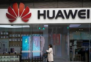 Huawei em Xangai, China Foto: Aly Song / REUTERS