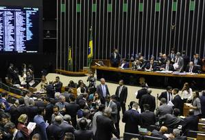 Na Câmara, há 342 frentes parlamentares registradas Foto: LUIS MACEDO / Agência O Globo