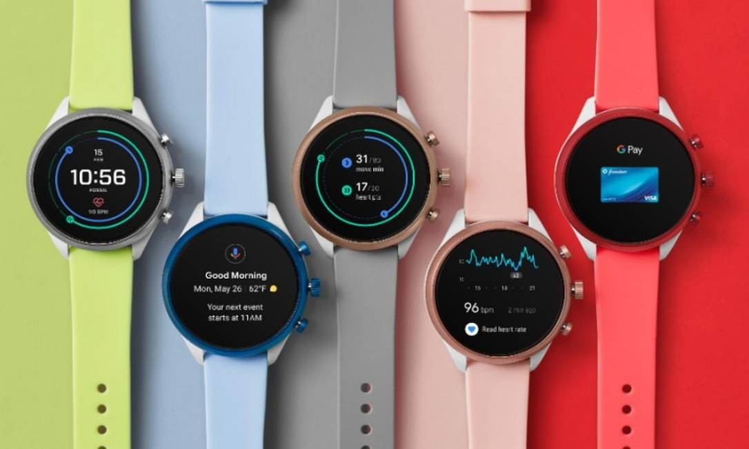 Empresas investem em relógios com mais funções em seu processador Foto: Divulgação