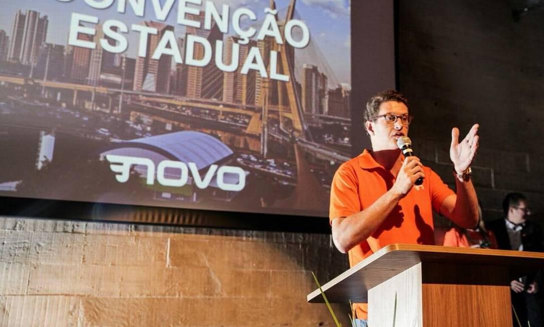Futuro ministro do Meio Ambiente, Ricardo Salles Foto: Reprodução/Facebook