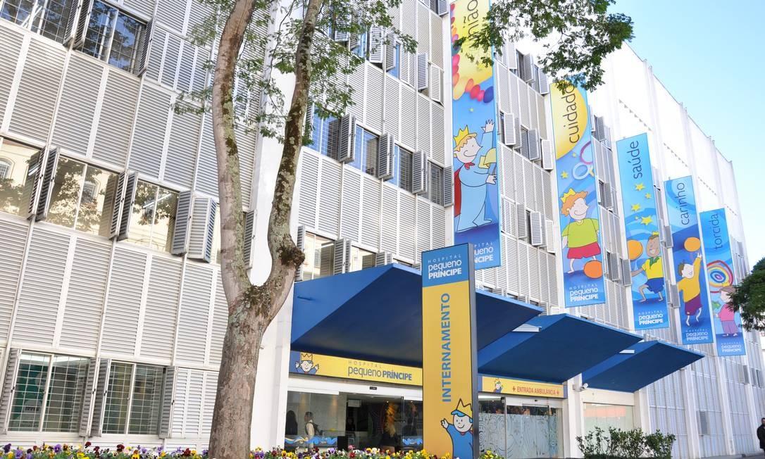 Em seis anos, hospital Pequeno Príncipe conseguiu arrecadar R$ 13 milhões de renúncias fiscais de pessoas físicas Foto: Divulgação