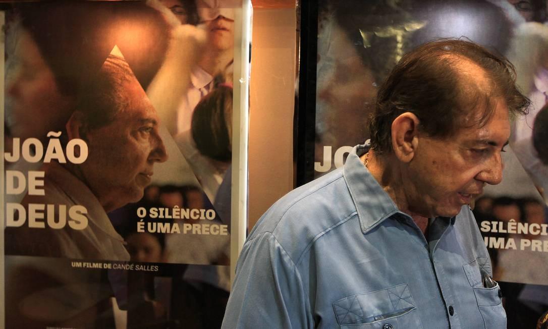 Médium João Teixeira de Faria, o João de Deus, é acusado de abuso sexual Foto: Eleven / Agência O Globo