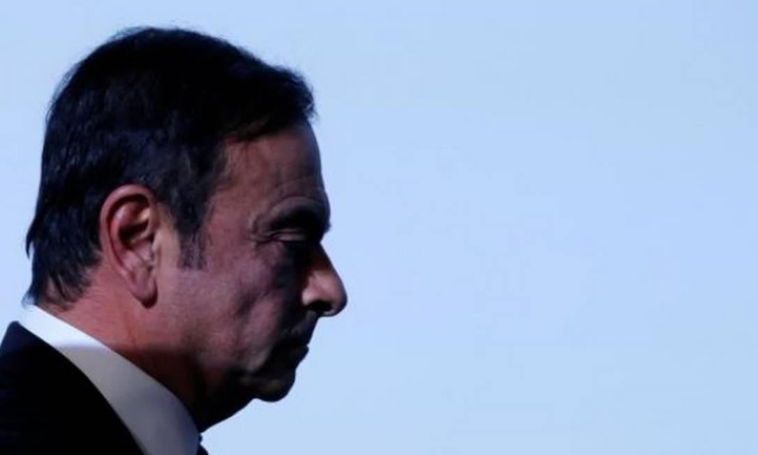 Acusação formal contra Ghosn foi feita nesta segunda Foto: Reuters