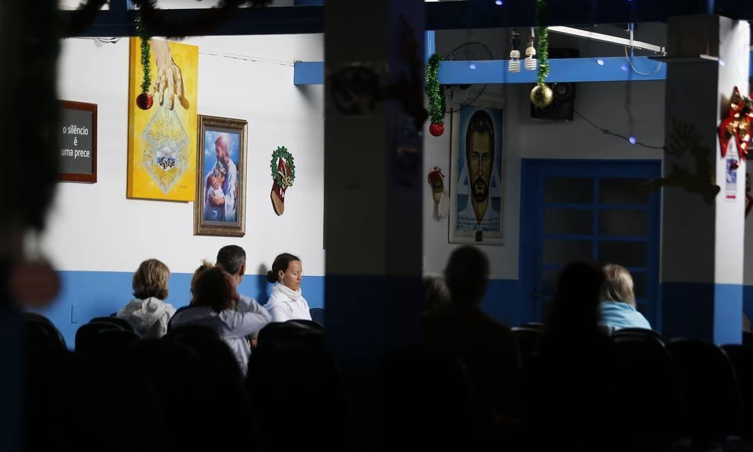 A Casa de Dom Inácio de Loyola, em Abadiânia (GO), onde João de Deus atende os fiéis Foto: Jorge William / Agência O Globo