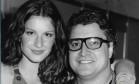Gisele e Serginho nos anos 90 Foto: Arquivo Pessoal