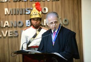 O ministro José Múcio Monteiro discursa durante solenidade de posse na presidência do TCU Foto: Divulgação/TCU