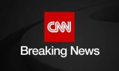 Reprodução do Twitter da emissora CNN Foto: Reprodução