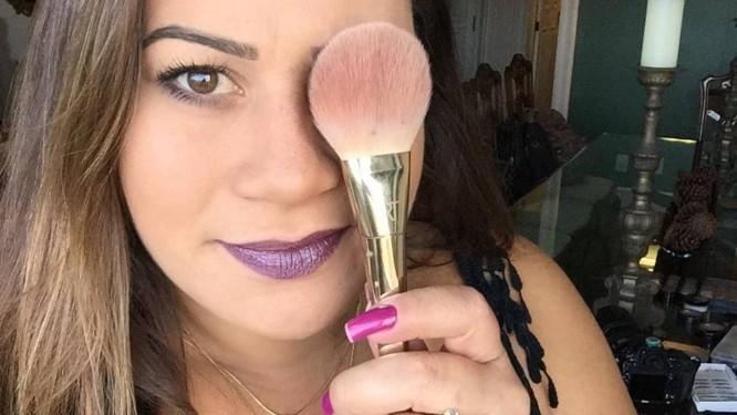 A maquiadora Priscila Sarzedas ministrará o curso para 30 mulheres Foto: Divulgação / Divulgação