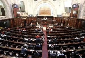 Plenário da Alerj Foto: Agência O Globo
