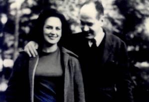 Lygia Fagundes Telles com Paulo Emilio Salles Gomes, seu marido Foto: Álbum de família