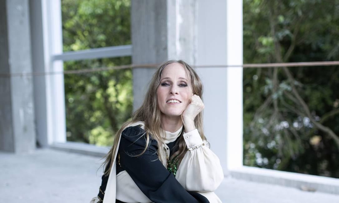 Deborah Colker usa vestido Gucci Foto: Leo Aversa