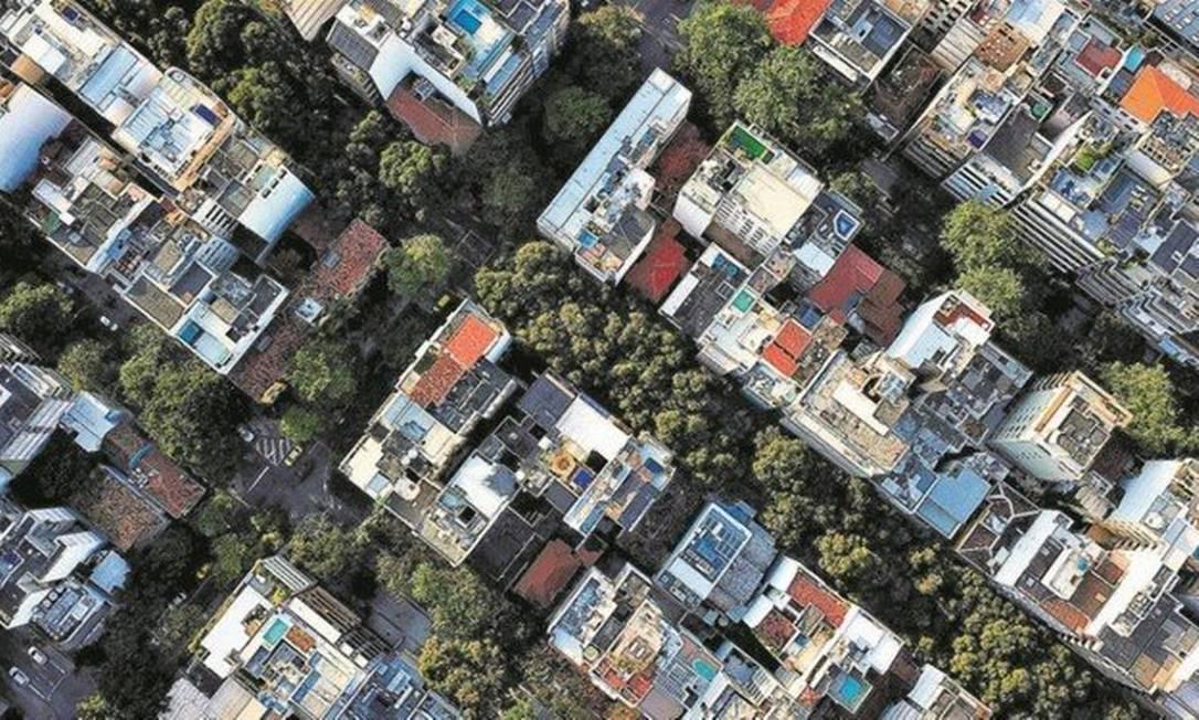 Mercado imobiliário diz que redução de metragem é uma tendência mundial Foto: Custódio Coimbra / Agência O Globo