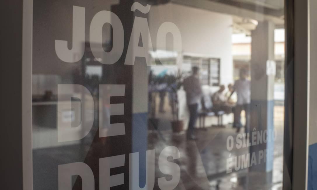 Ministério Público de São Paulo encaminhará depoimentos contra João de Deus para o órgão em Goiás Foto: Daniel Marenco / Agência O Globo