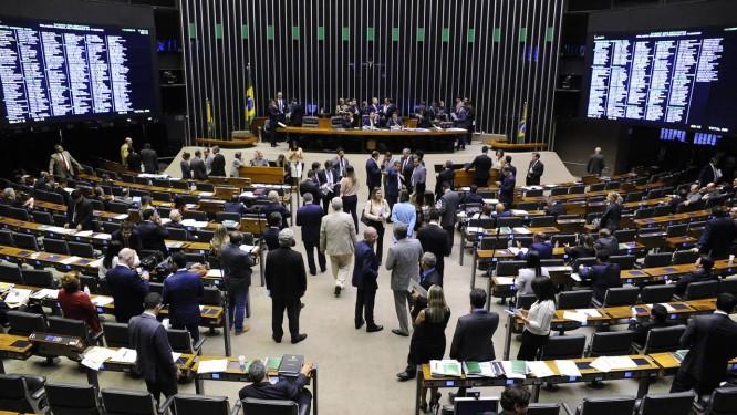 Plenário da Câmara dos Deputados Foto: GILMAR FELIX / Agência Câmara