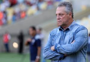 Abel Braga está de volta ao Flamengo após 15 anos Foto: LUCAS MERÇON / FLUMINENSE F.C.