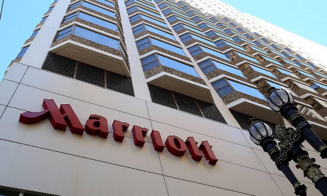 Fachada do hotel Marriott em São Francisco Foto: / AFP