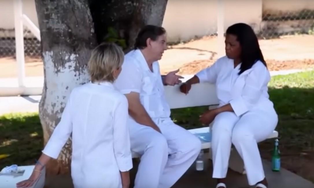 João de Deus em entrevista a Oprah Foto: Reprodução