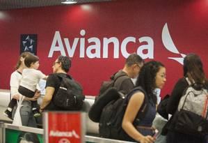 Avianca assegura oferta de voos a seus clientes após anunciar pedido de recuperação judicial Foto: Gabriel Monteiro/15-07-2018