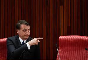 Presidente eleito Jair Bolsonaro Foto: EVARISTO SA / AFP