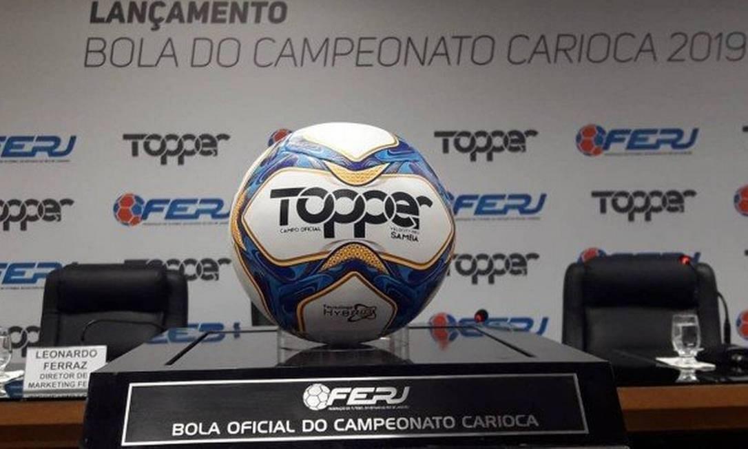 ac851a112280e  Samba  será a bola oficial do Carioca de 2019 Foto  Divulgação