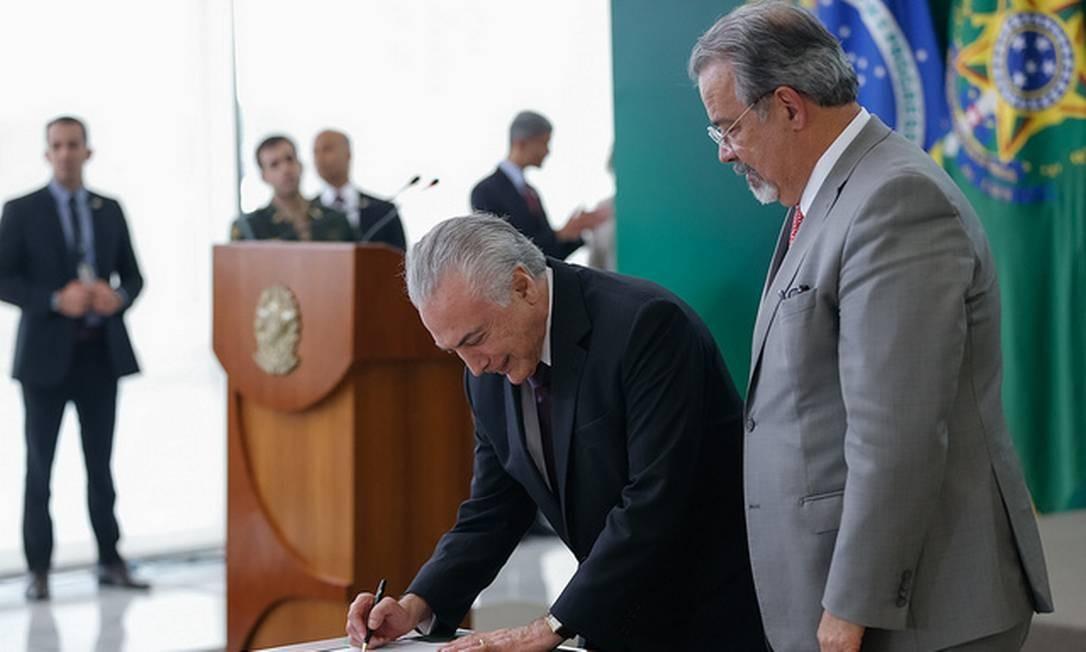 Temer sanciona MP que direciona recursos de loteria para Segurança, Cultura e Esporte Foto: Divulgação