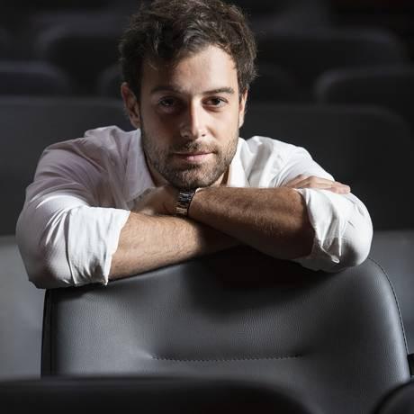 Luiz Guilherme é responsável pela programação do Teatro XP Foto: Ana Branco