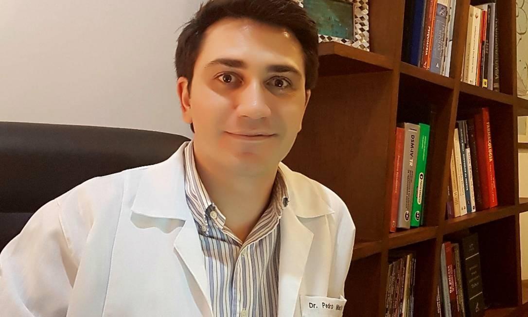 O psiquiatra Pedro Pan, da Unifesp, que participou do Projeto Conexão, que investigou a depressão em crianças e adolescentes Foto: Arquivo pessoal
