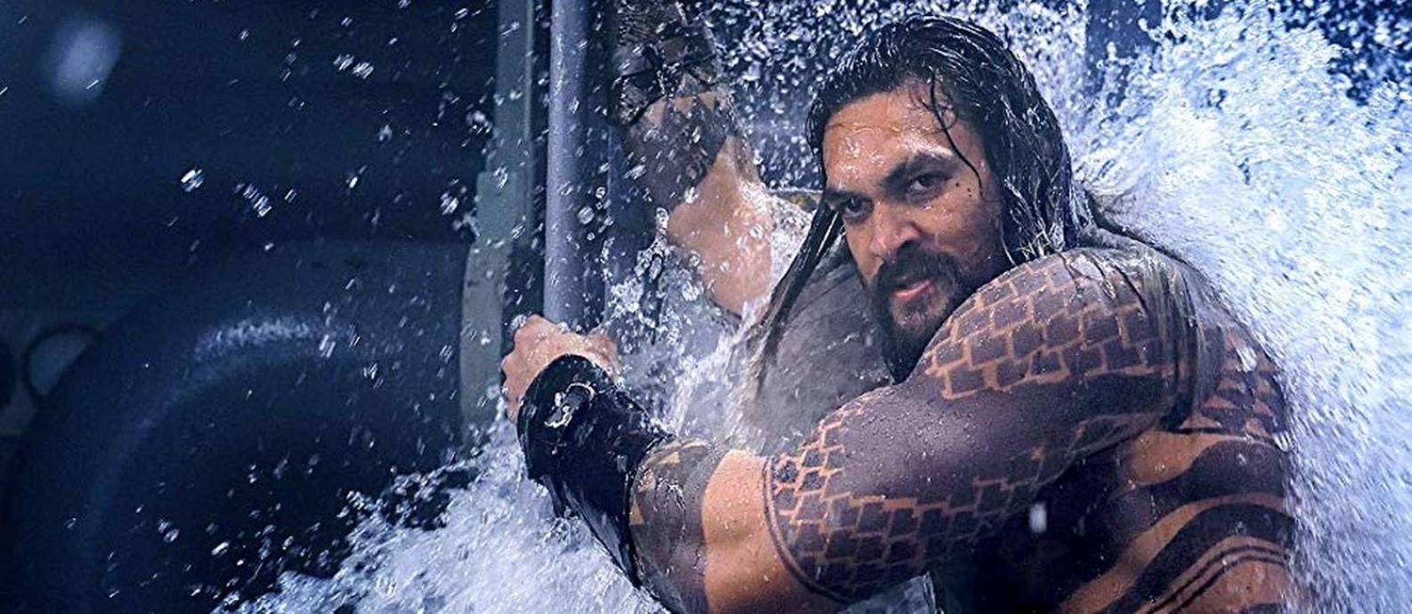Jason Momoa em 'Aquaman' Foto: Divulgação