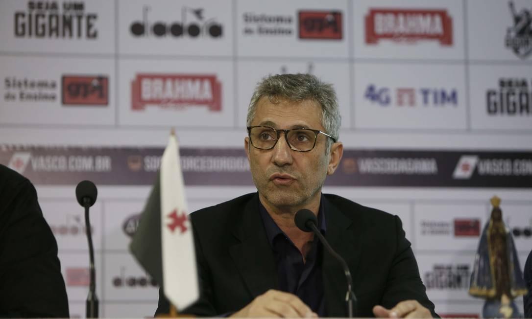 Alexandre Campello é presidente do Vasco Foto: Rafael Ribeiro / Rafael Ribeiro