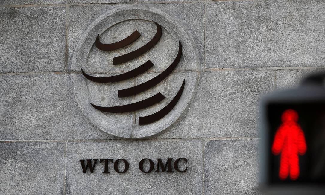 Sede da OMC, em Genebra Foto: / Denis Balibouse