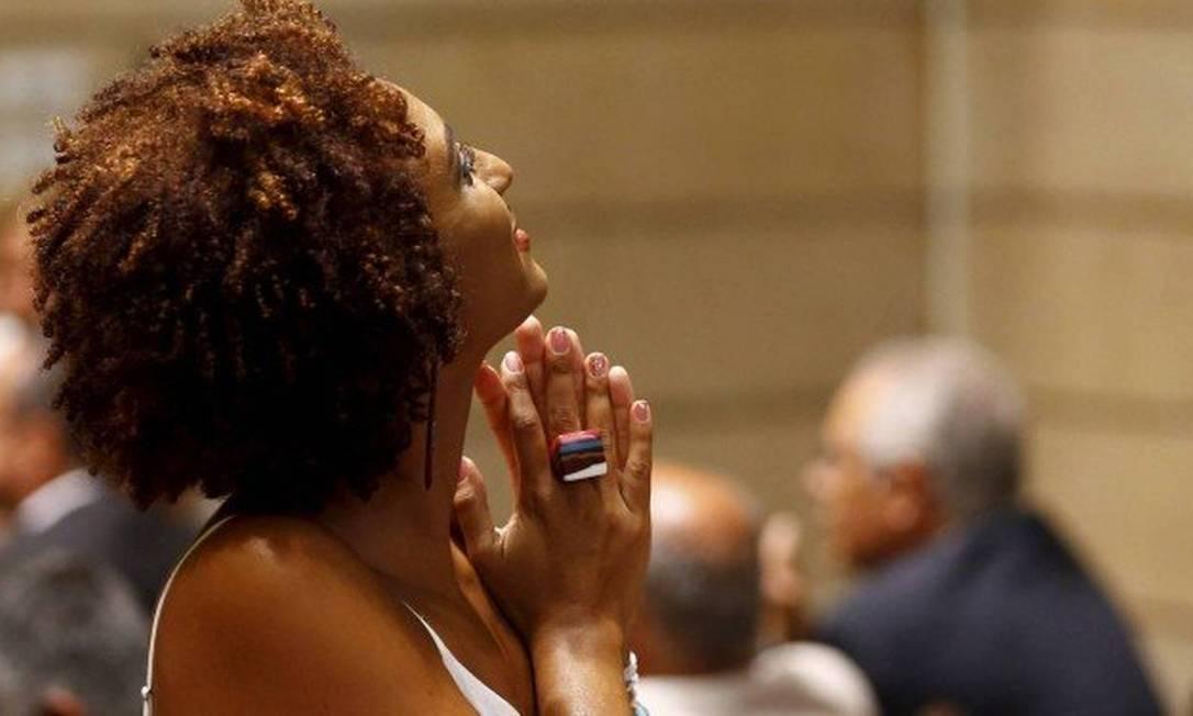 Marielle Franco: vereadora foi morta a tiros no dia 14 de março Foto: Agência O Globo