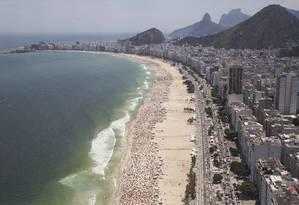 Praia do Rio Foto: Gabriel Monteiro / Agência O Globo