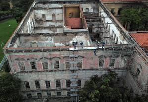 Novas regras para fundos patrimoniais devem alavancar recursos privados para evitar desastres como o do Museu Nacional Foto: Custódio Coimbra/27-11-2018 / Agência O Globo