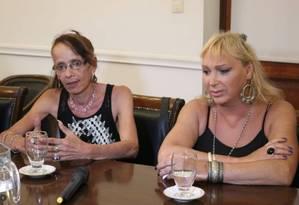 Noellia Trujullo (à direita): prisão durante a ditadura argentina Foto: Província de Santa Fé