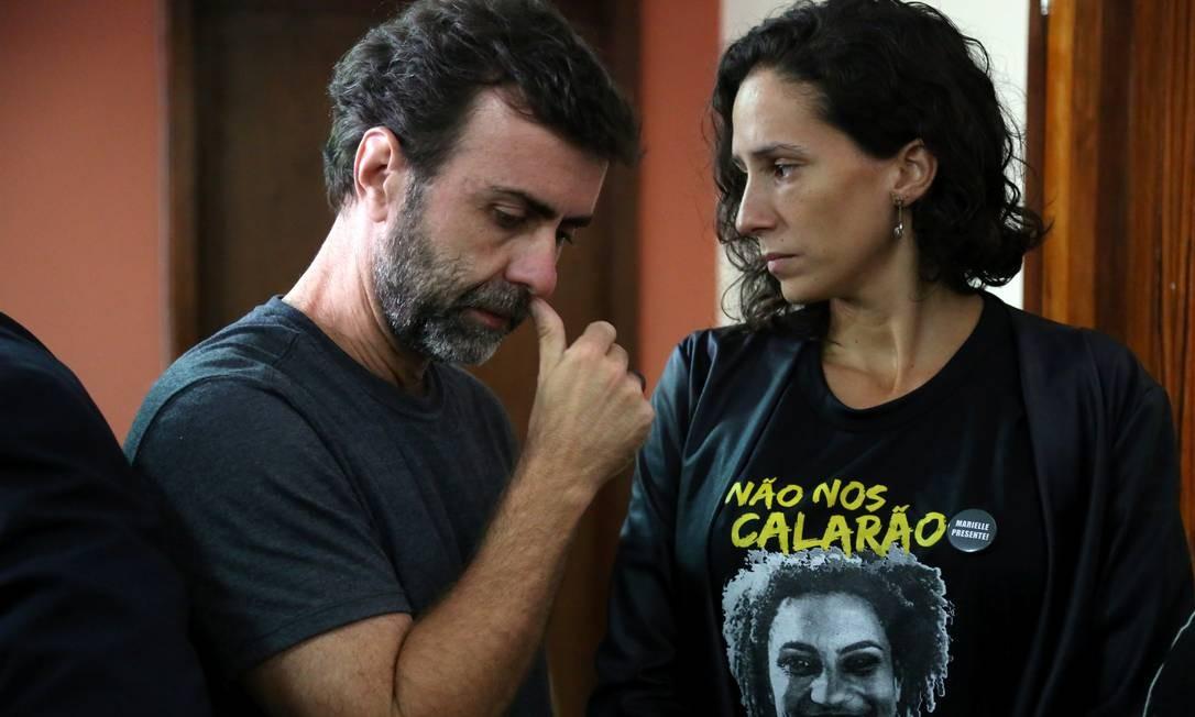 Polícia do Rio intercepta plano para assassinar o deputado Marcelo Freixo, às véspera da morte da vereadora Marielle Franco (PSOL) completar nove meses sem esclarecimento Foto: Custódio Coimbra / Agência O Globo