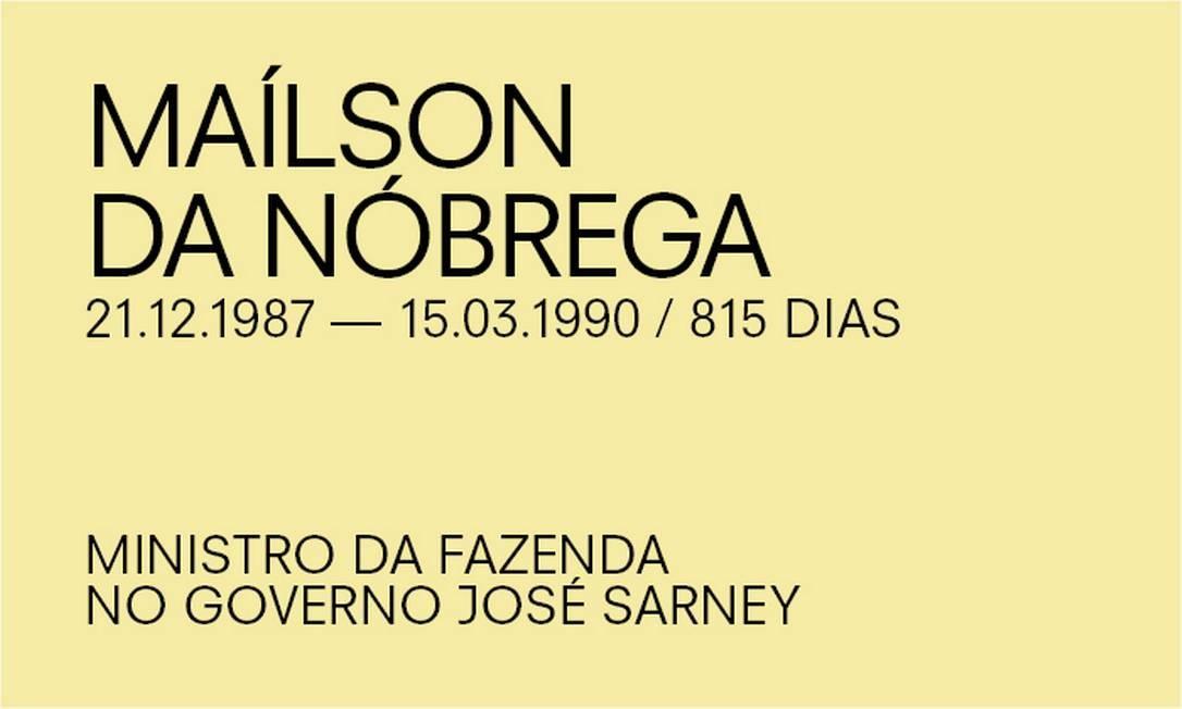 Para Paulo Guedes, de Maílson Nóbrega Foto: Agência O Globo