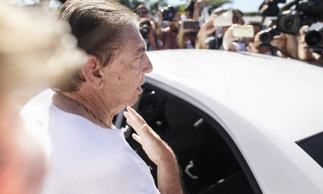 Na quarta-feira, João de Deus afirmou aos jornalistas que provará sua inocência Foto: Daniel Marenco / Agência O Globo