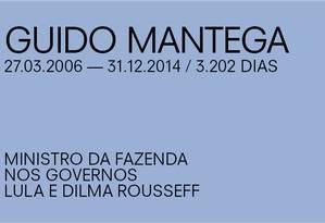 Para Paulo Guedes, de Guido Mantega Foto: Agência O Globo