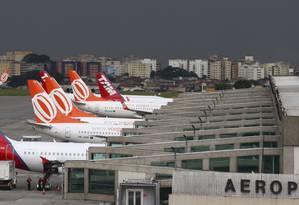 MP das aéreas pode estimular concorrência no setor e provocar queda no preço das passagens Foto: Michel Filho / Agência O Globo