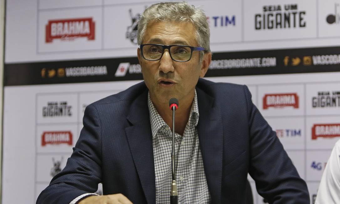 Alexandre Campello admite orçamento tímido para o futebol do Vasco em 2019 Foto: Rafael Ribeiro