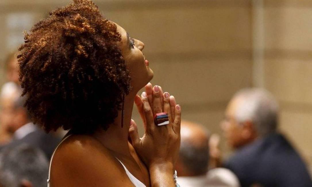 Marielle Franco: vereadora foi morta a tiros no dia 14 de março Foto: Pablo Jacob / Agência O Globo
