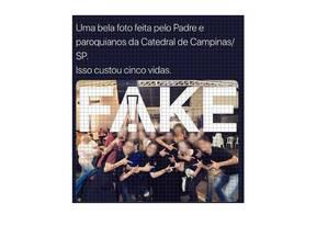 Foto não foi tirada em Catedral de Campinas Foto: Reprodução