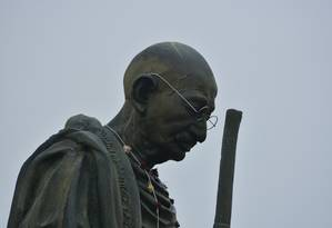 Petição para retirar a estátua de Gandhi existia desde 2016 Foto: Pixabay/Pixabay