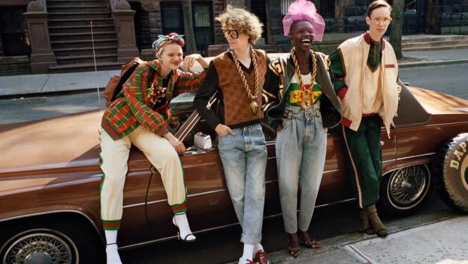 A nova Gucci faz parcerias importantes, como essa com Dapper Dan Foto   Divulgação ead3be035f