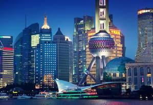O skyline de Xangai Foto: Shuterastock