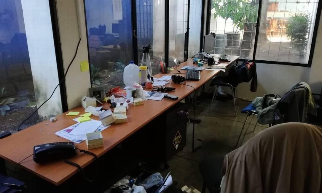 Redação de rede jornalística foi invadida por Polícia Nacional da Nicarágua, denuncia diretor Foto: Reprodução/Twitter/El Confidencial
