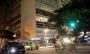 Prédio na Avenida Atlântica utilizado por Ghosn. Foto: RICARDO MORAES / REUTERS